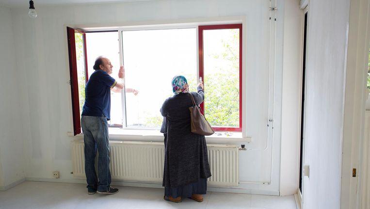 Een sociale huurwoning in Amsterdam. Beeld Arie Kievit