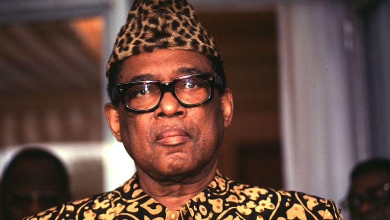 Kata was een voormalige commandant van de garde civile van Mobutu (foto).