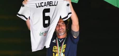 Lucarelli (40) bleef Parma altijd trouw, maar gaat niet mee naar Serie A
