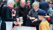 Hoeilanders herdenken Marc Sleen opnieuw met grote wafelenbak
