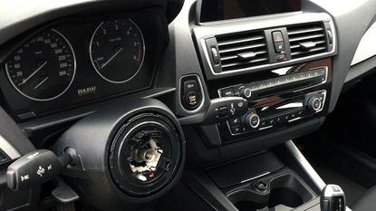 Stuur uit BMW gestolen