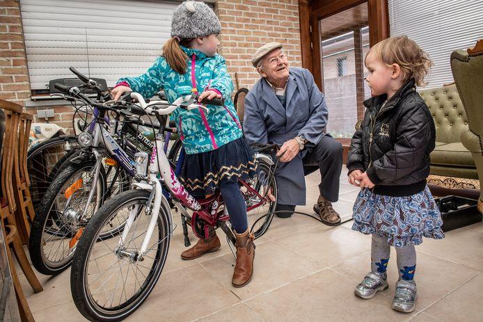 Eind maart opende er al een Fietsbieb in Staden. Halfweg september krijgt ook Gits een eigen Fietsbieb.