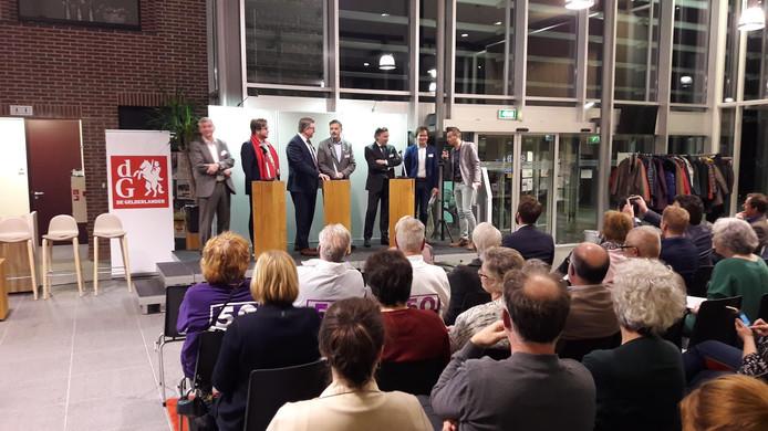 De kandidaat-Statenleden voor Utrecht gingen onlangs in debat in Rhenen