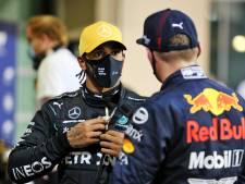 Hamilton op tweede startrij: 'Nog niet honderd procent fit, maar dat staat me niet in de weg'