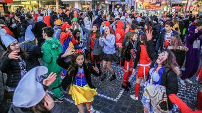 Laatstejaars vieren 100 dagen, stad neemt maatregelen