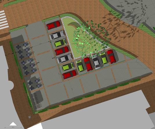 Centrumplan Terheijden Dorpsstraat Bron: Aura Raamsdonksveer