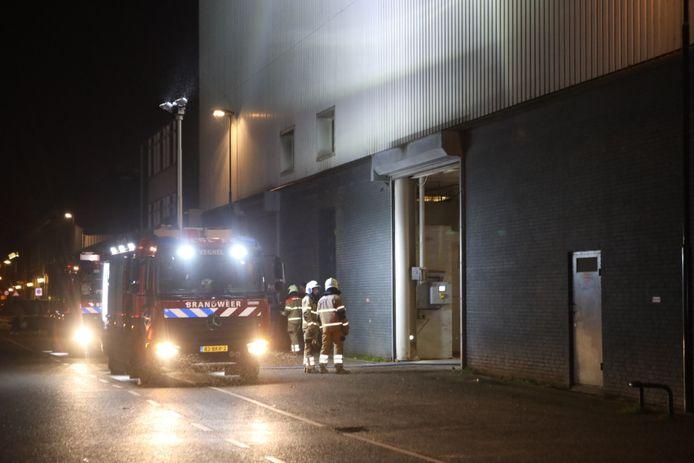 Brand bij mengvoederbedrijf Victoria, Zuidkade, Veghel