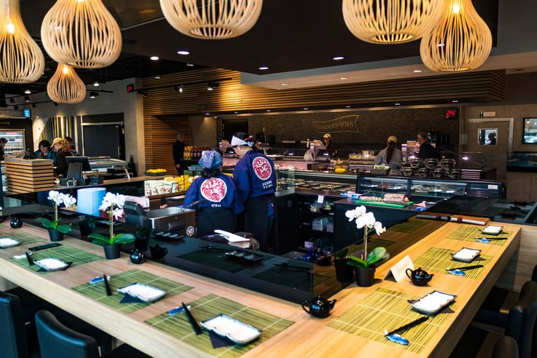 Sushi Lounge in Genk.