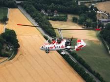 Vliegende auto twee dagen op Wenningfeld