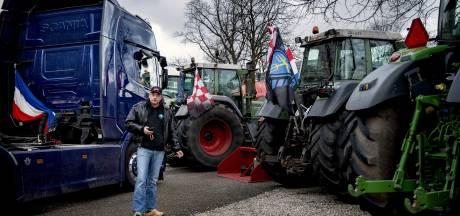 Boeren Gelderland en Overijssel naderen Den Haag