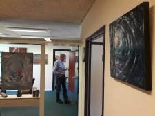 Kunstenaars openen galerie in voormalige bank van Aagtekerke