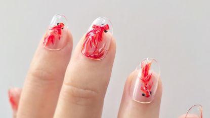 'Fish nail art' is de nieuwe nagellaktrend die Instagram verovert