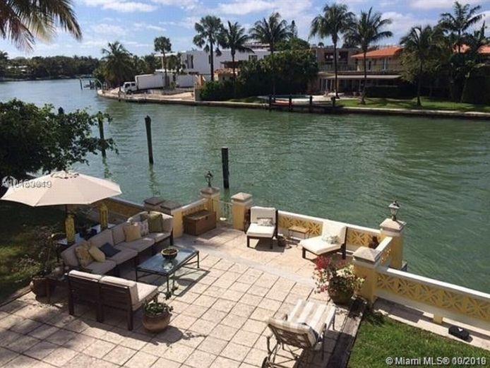 Eén van de vijf vakantiehuizen op Pine Drive in Miami Beach dat door het Antwerpse gerecht verbeurd is verklaard.