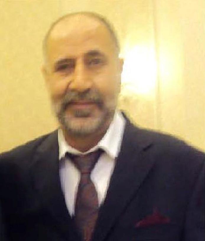 Slachtoffer Majeed Kayhan.