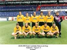 Ad Gladdines speelde 25 jaar geleden met Halsteren in de Kuip: 'Wij hadden die finale echt moeten winnen'
