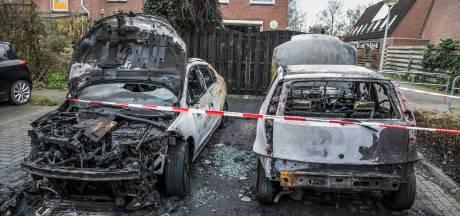 Opnieuw auto's in brand gestoken in Arnhem