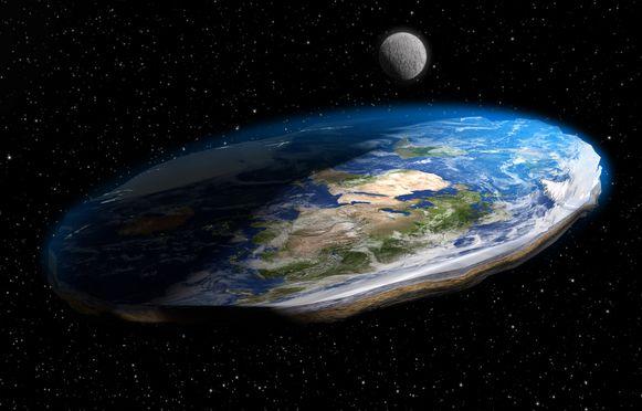 """De aarde die plat is? """"Mensen die vroeger geen contact hadden, vinden elkaar. Zo ontstaan kleine netwerkjes"""", oordeelt Paul De Belder."""