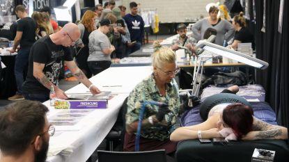 Tattooeurs leven zich uit in Vrijtijdscentrum de Mixx in Herselt