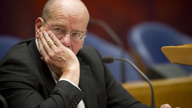 Staatssecretaris Fred Teeven (Veiligheid en Justitie) heeft geweigerd mee te werken aan het bezoek. Beeld ANP
