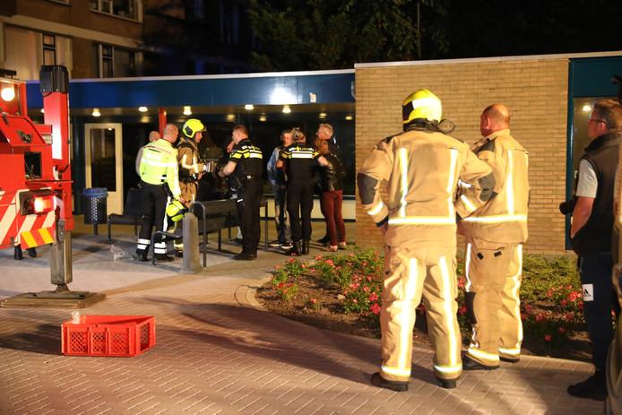 Vannacht heeft een brand gewoed in een wooncomplex aan de Wittebrug in Poeldijk.