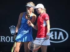 Bertens met dubbelpartner Larsson naar WTA Finals