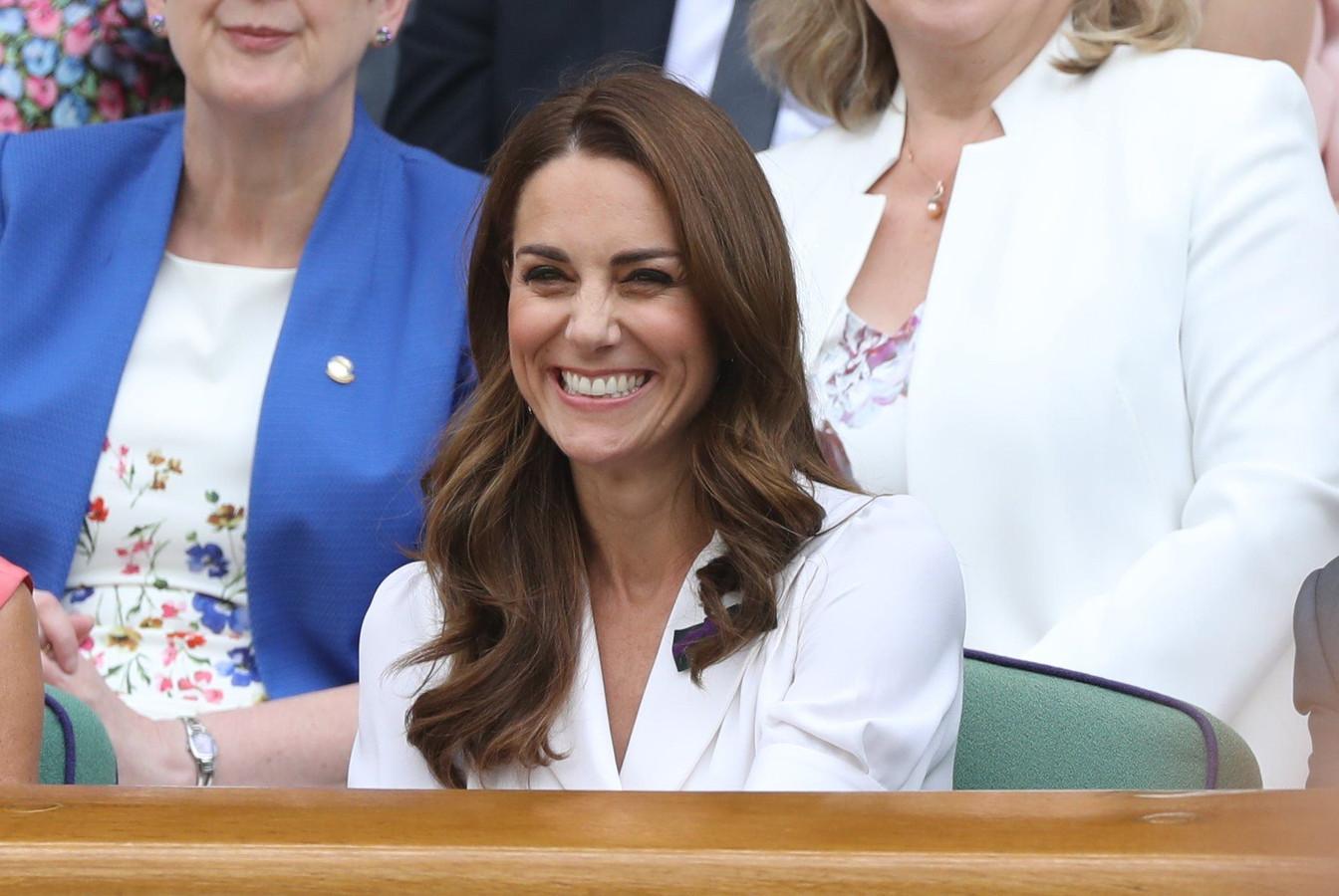 La duchesse de Cambridge à Wimbledon.