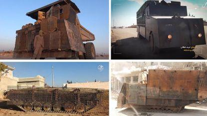 De monsterlijke bomauto's van IS: tanks, bulldozers en witte Kia's