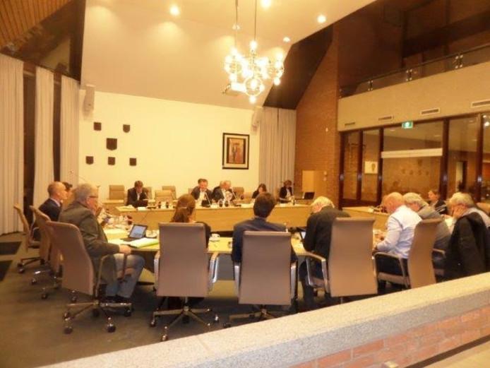 De gemeenteraad van Woudrichem is dinsdagavond bijeen.