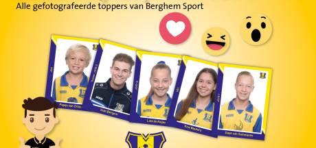 Berghem Sport trapt voetbalplaatjesactie met Jumbo's af