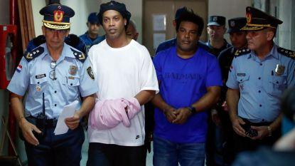 Ronaldinho toch de cel in voor vals paspoort Paraguay, later volgt uitsluitsel hoe lang de Braziliaan vastzit