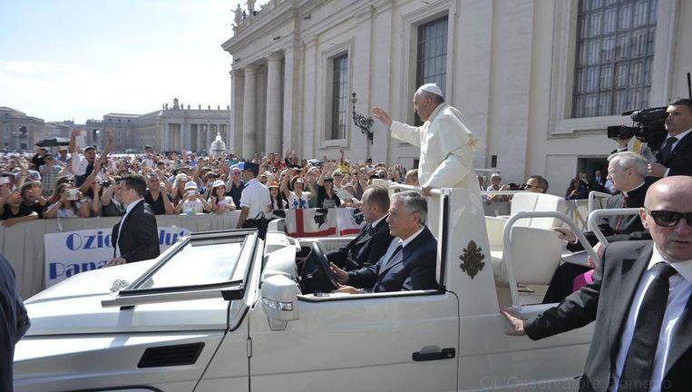Paus Franciscus in Rome Beeld anp