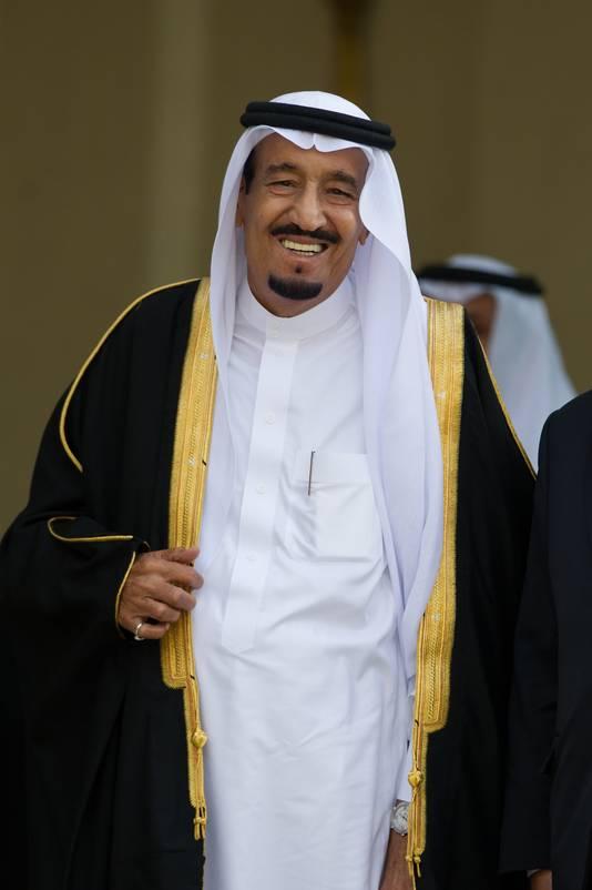 Koning Salman zette eerder dit jaar een Frans dorp op stelten.
