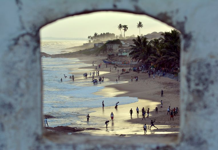 Ghana, Fort Elmina Beeld Hollandse Hoogte / Eric Brinkhorst