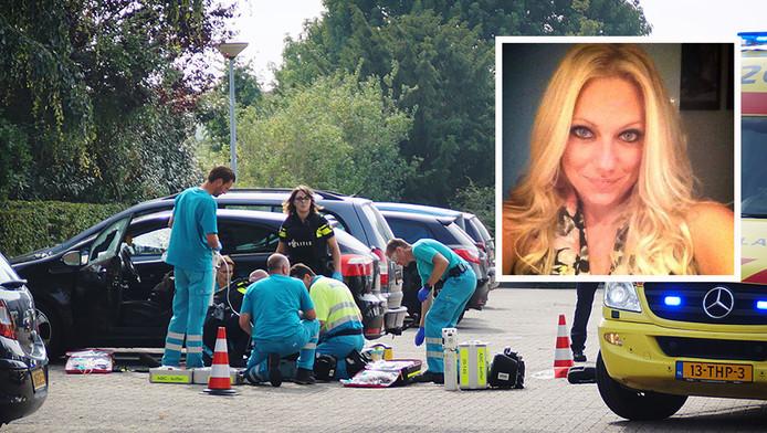 Linda werd na haar werk neergeschoten, op de parkeerplaats van het ziekenhuis in Waalwijk waar ze werkte