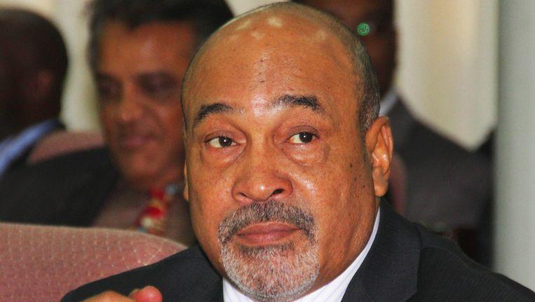 De Surinaamse president Desi Bouterse. Beeld ANP