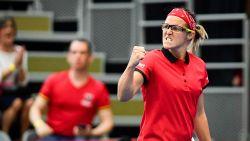 Flipkens stunt tegen voormalig nummer één van de wereld en zet Fed Cup-dames op voorsprong
