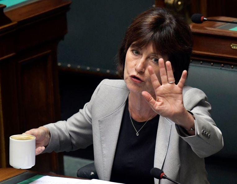 PS-politica Laurette Onkelinx.