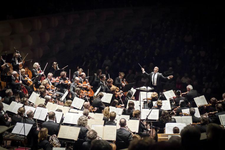 Het Rotterdams Philharmonisch Orkest. Beeld AD