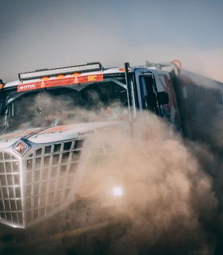 Van den Heuvel is even het spoor bijster in Dakar Rally