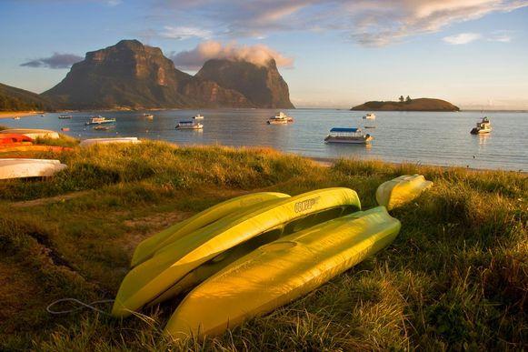 Het eiland Lord Howe behoort tot Zeelandië