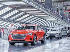 Productie elektrische Audi's blijft achter door gebrek aan accu's