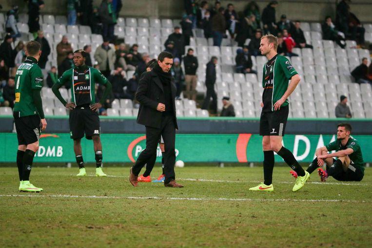 Cercle Brugge reageert verslagen na plots ommekeer tegen KV Mechelen.