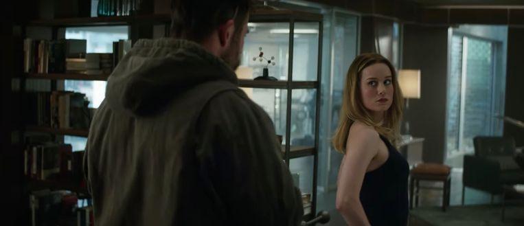 Captain Marvel in 'Avengers: Endgame'