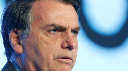 Bolsonaro zegt dat ngo's achter bosbranden in Amazonegebied zitten