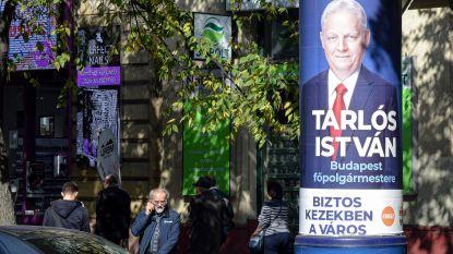 Seks, leugens en een audiotape: Hongaren kiezen lokaal bestuur na kiescampagne vol schandalen