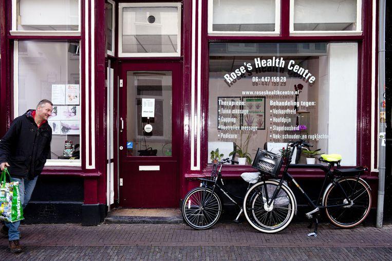 Ook voor uw gezondheid kunt u terecht in de Voorstraat. Beeld Renate Beense