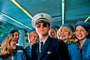 Leonardo DiCaprio in de film Catch Me If You Can, waarin de acteur een meesteroplichter speelt.