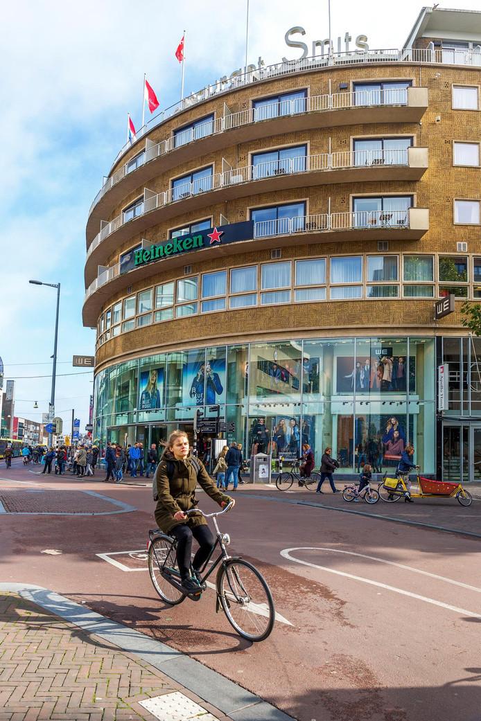 Het Apollo Hotel Utrecht aan het Vredenburg.