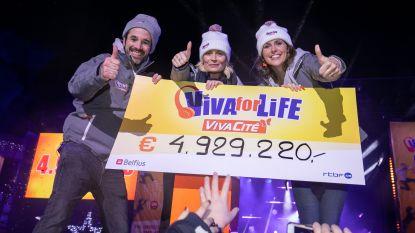 Franstalige 'Music For Life' haalt recordbedrag van bijna 5 miljoen euro op