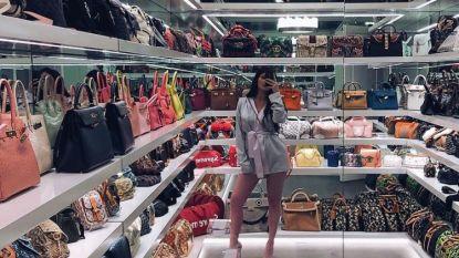 Wow: de handtassen-collectie van Kylie Jenner is een miljoen waard